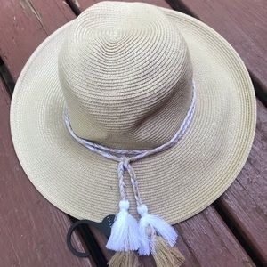 Sea Folly Shady Lady natural collapsible hat